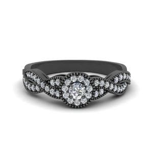 Halo Infinity Diamond Ring