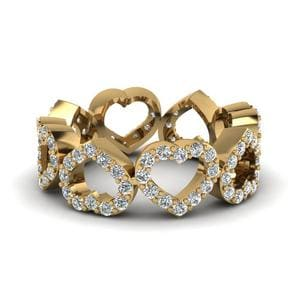 Heart Design Diamond Mom Band