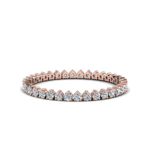 0.40 Ct. Heart Design Eternity Band