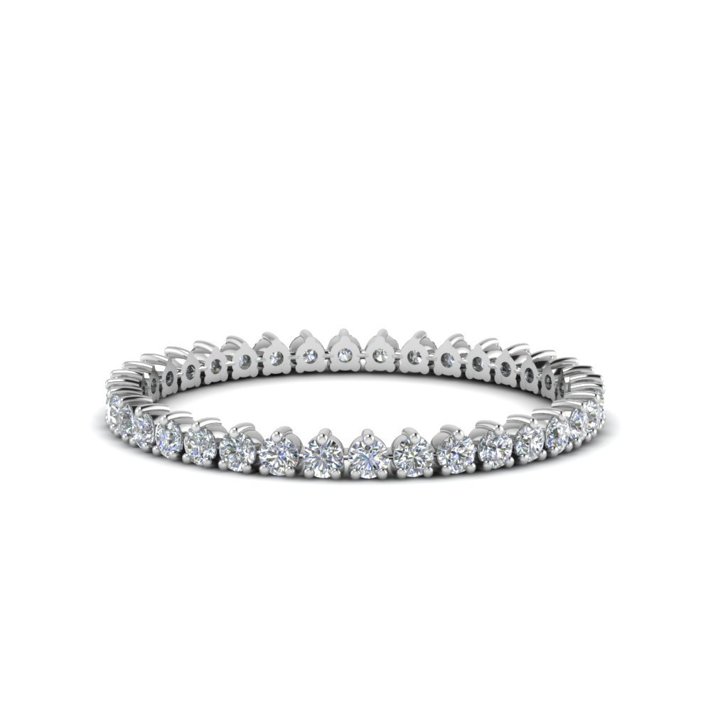 Heart Design Eternity Band