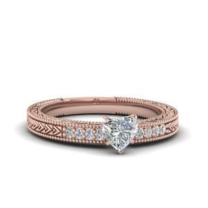 Perfect Match (Art Deco Pave Daimond Wedding Band)