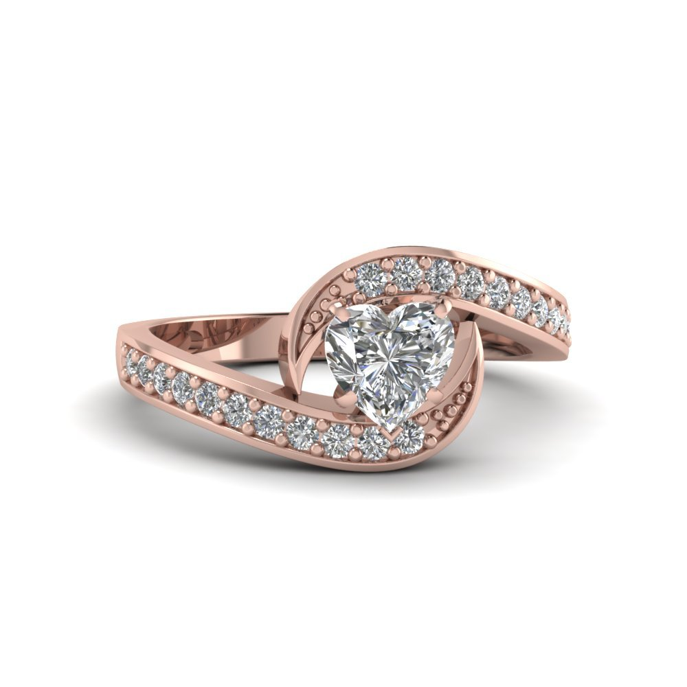 Bypass Traditional Delicate Diamond Ring