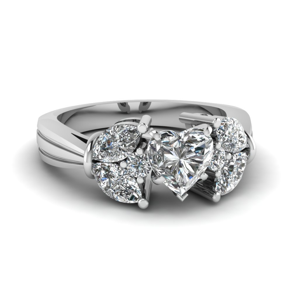 Marquise Petal Diamond Ring