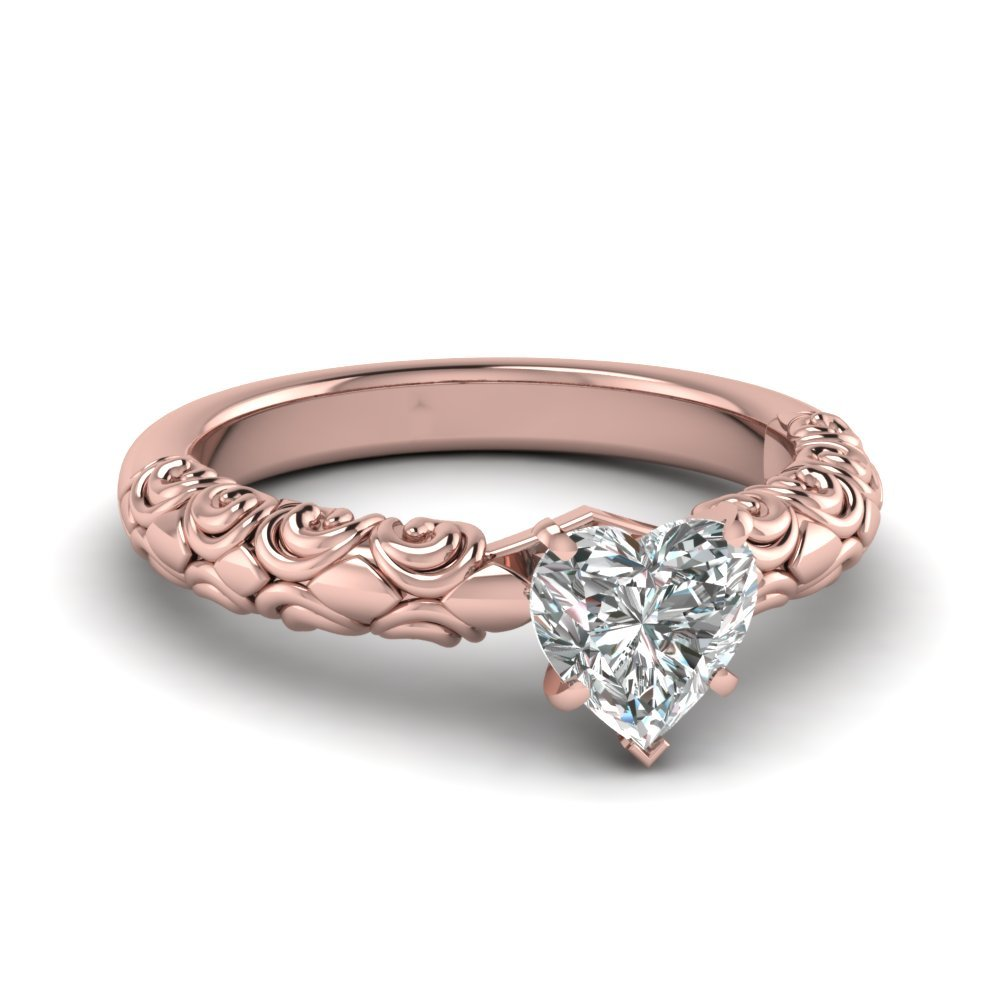Matching Filigree Engagement Ring