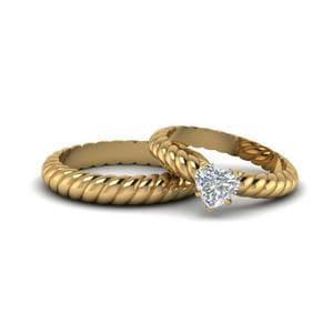 Matching Ring For Bride And Groom