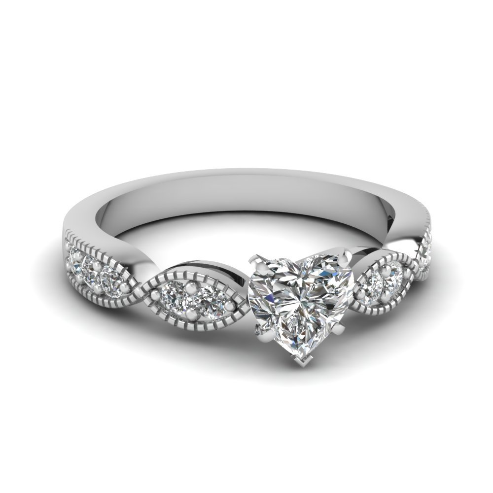 Infinity Diamond Engagement Rings