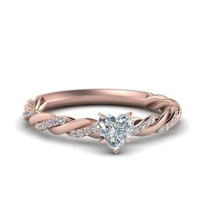 Perfect Match (Twisted Vine Diamond Wedding Band)