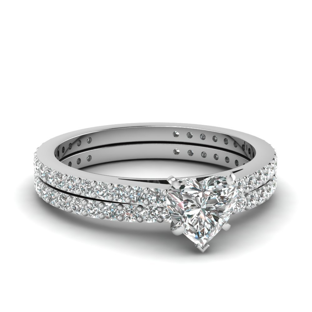 Classic Diamond Wedding Set