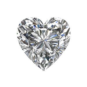 Heart Shaped Loose Diamond