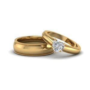 Matching Wedding Rings for Couples