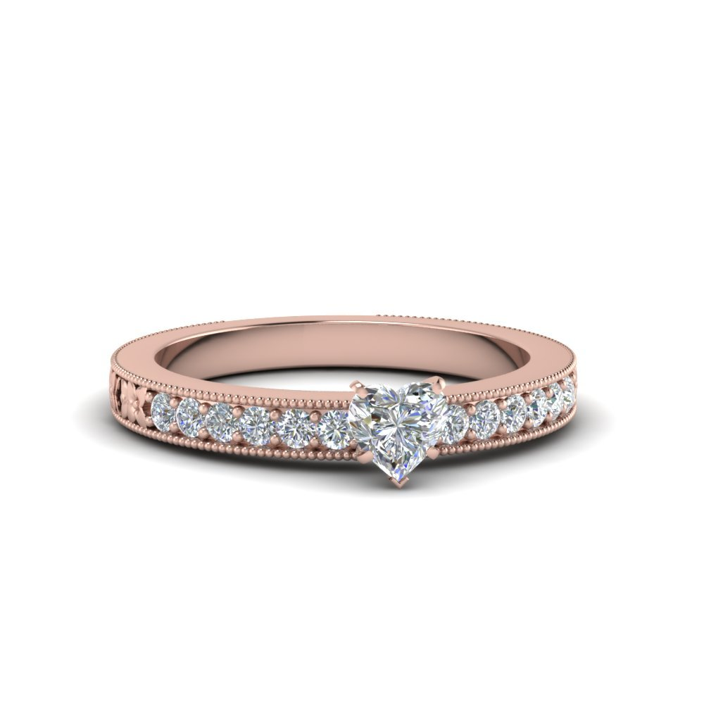 Heart Shaped Petite Ring