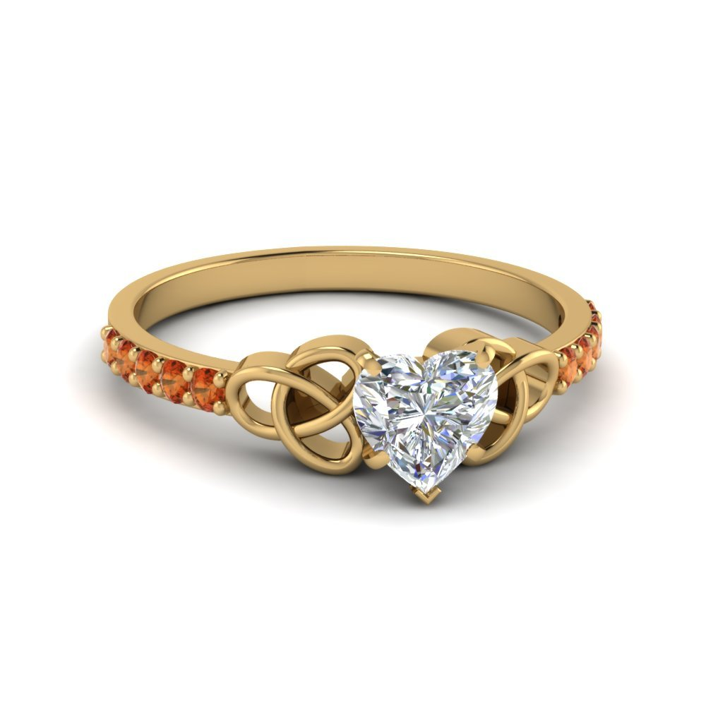 Heart Shaped Petite Pave Ring