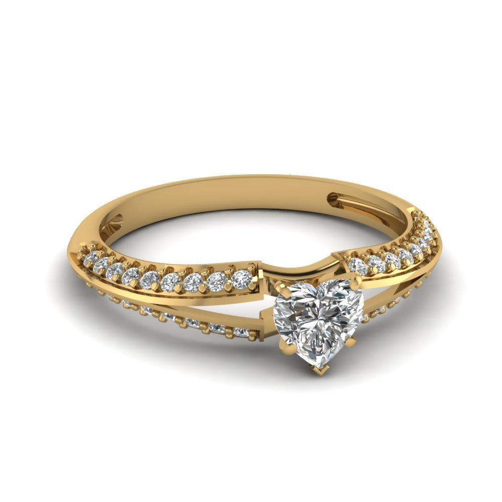 Best Selling Heart Diamond Rings