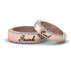 His And Hers Personalized Band