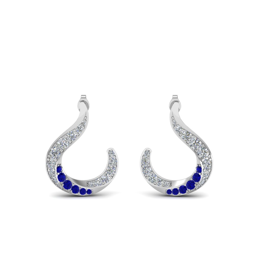 Best Selling Sapphire Earrings For Her