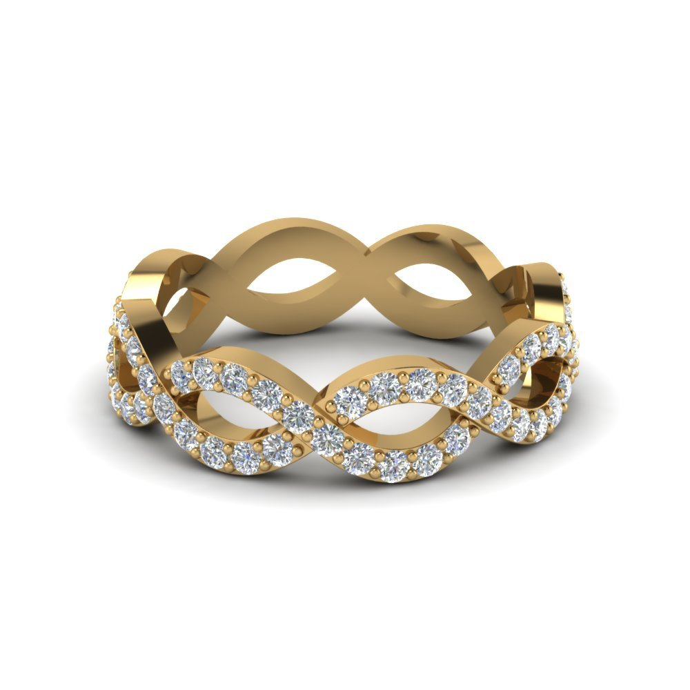 Infinity Diamond Eternity Anniversary Band