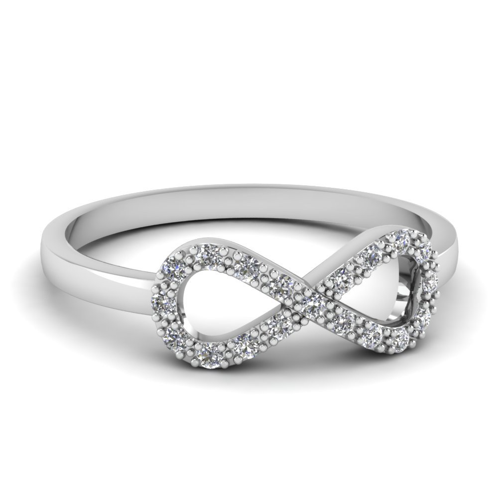Infinity Diamond Fancy Ring For Women