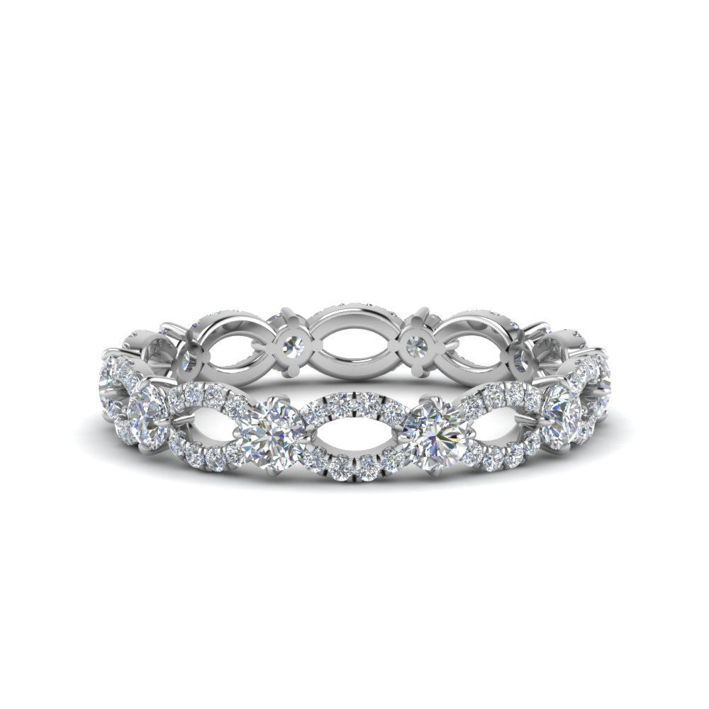 1.50 Ct. Infinity Eternity Ring