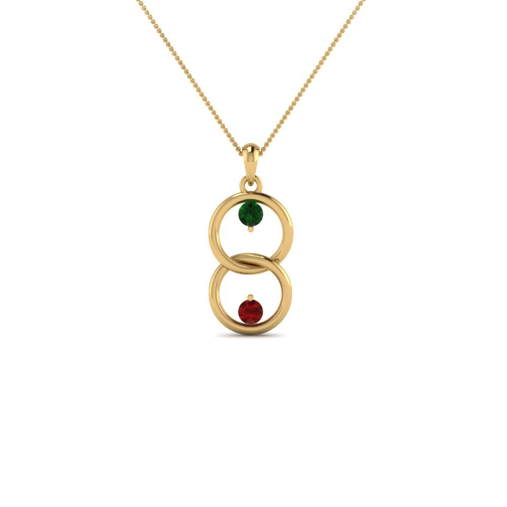Interlocked Mothers Pendant