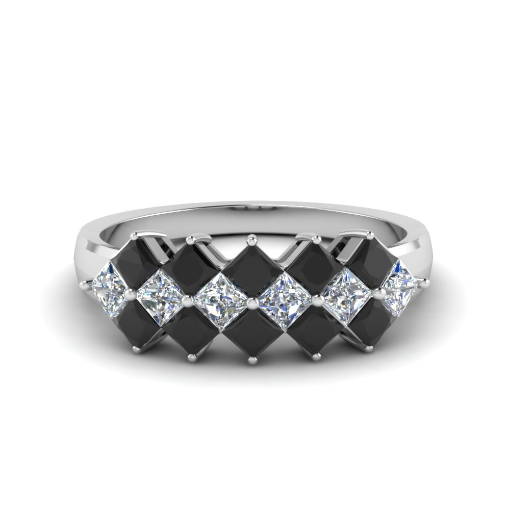 Black Diamond Platinum Band