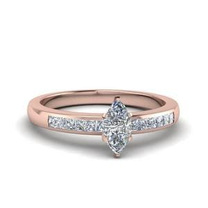 Channel Princess Diamond Ring