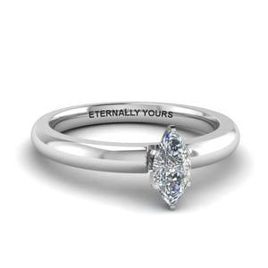 Classic Marquise Solitaire Ring