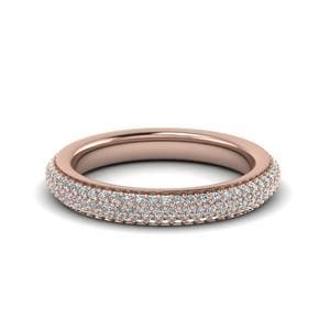 0.90 Carat Micropave Diamond Eternity Band