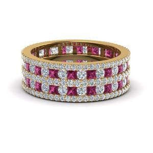 Multi Row Eternity Ring (3 ctw.)