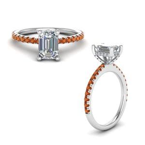 Emerald Cut Petite Ring