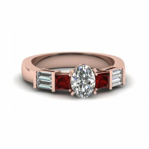Ruby Womens Wedding Ring