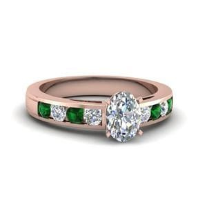 Timeless Channel Emerald Ring