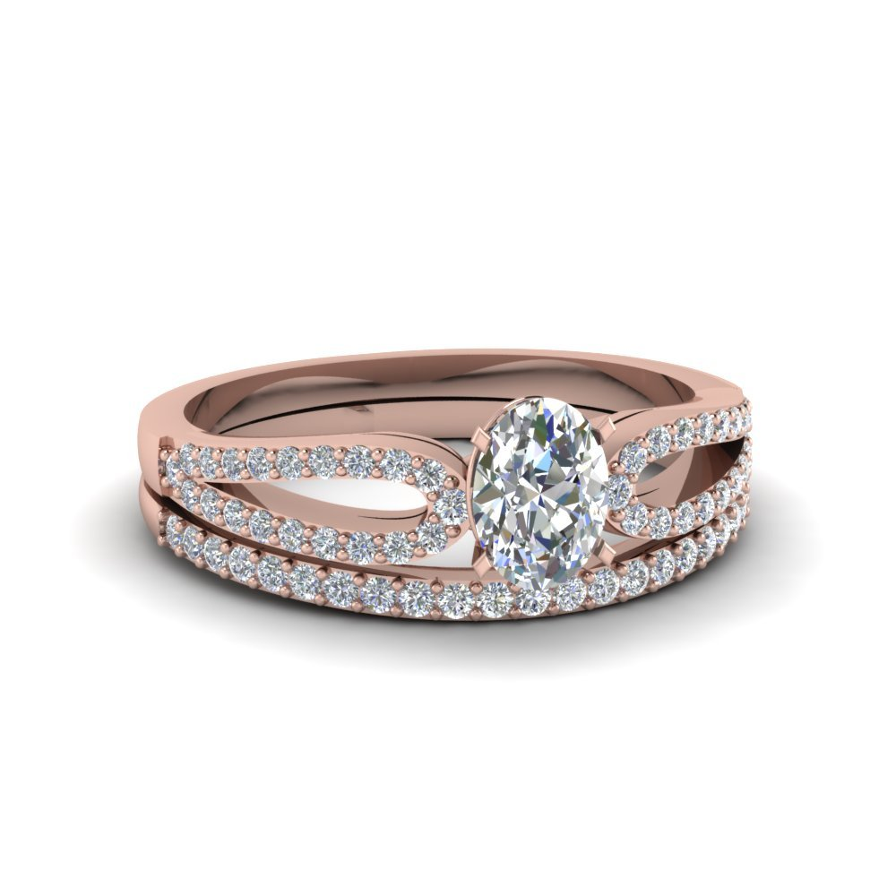 Loop Diamond Ring With Band