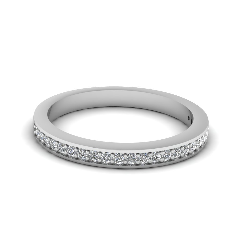 Pave Wedding Bands