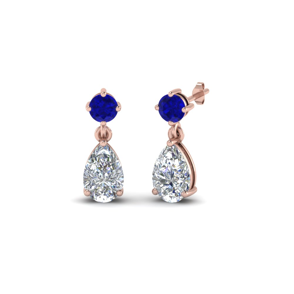 Blue Earrings For Womens