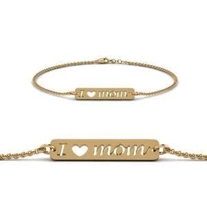 Personalized Mom Bracelet