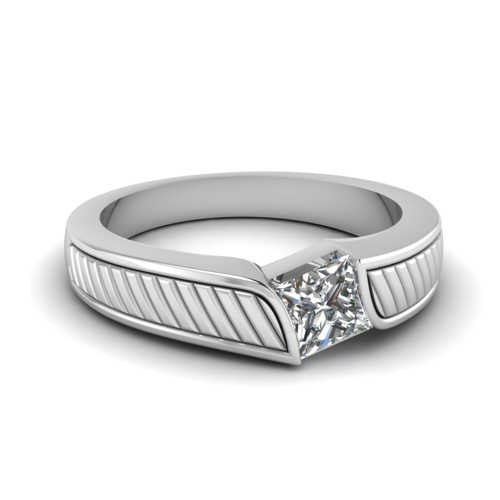Solitaire Diamond Anniversary Ring