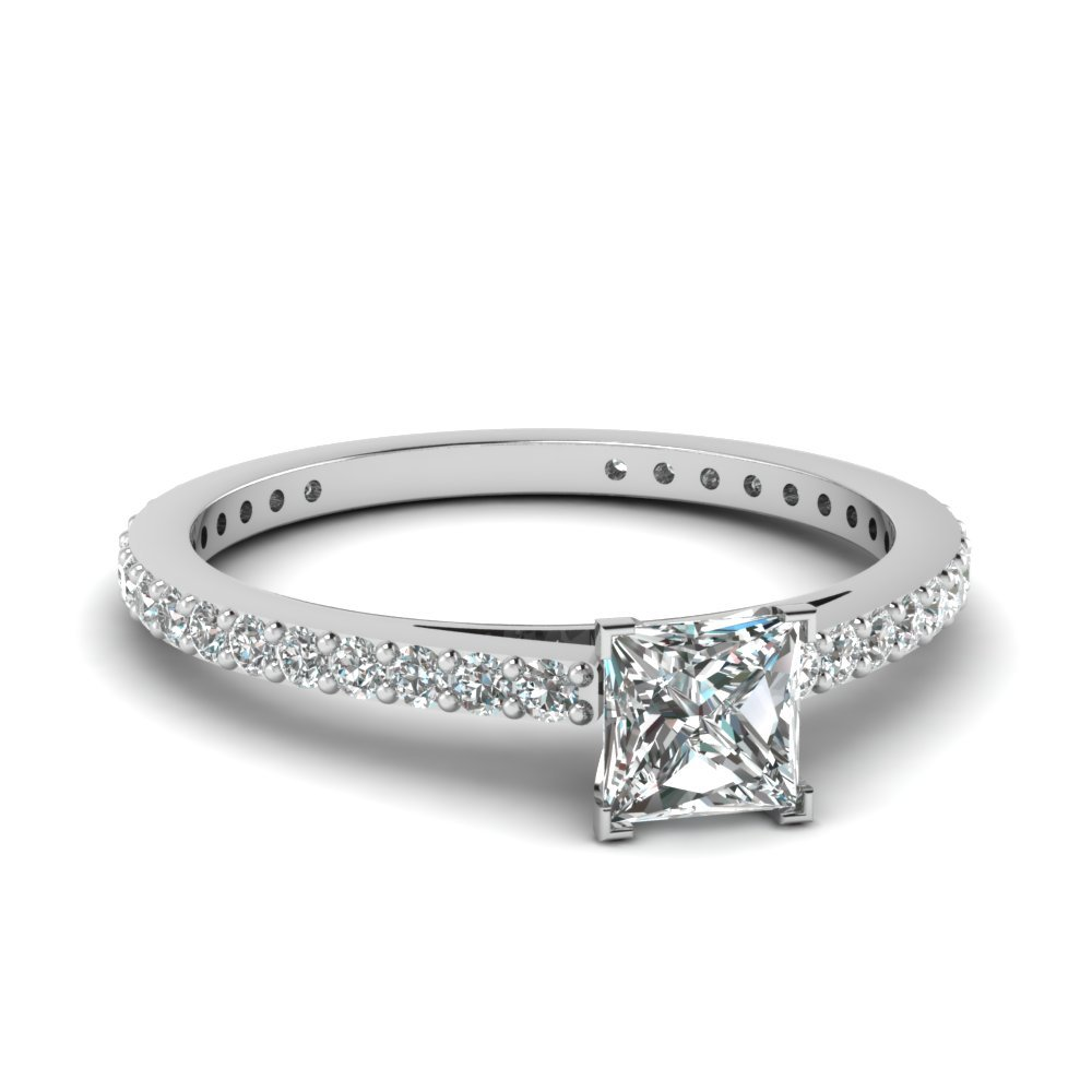 Petite Princess Diamond 3/4 Ct. Ring