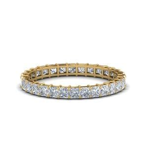 Princess Cut Eternity Ring 1.50 Carat