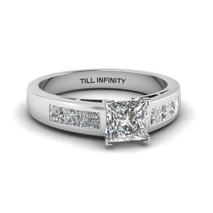 Perfect Match (Channel Set Diamond Wedding Band)