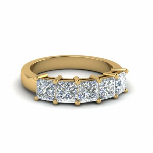 Five Stone Wedding Ring (2 Ct.)