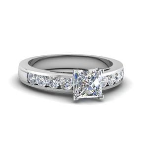 Timeless Channel Diamond Ring