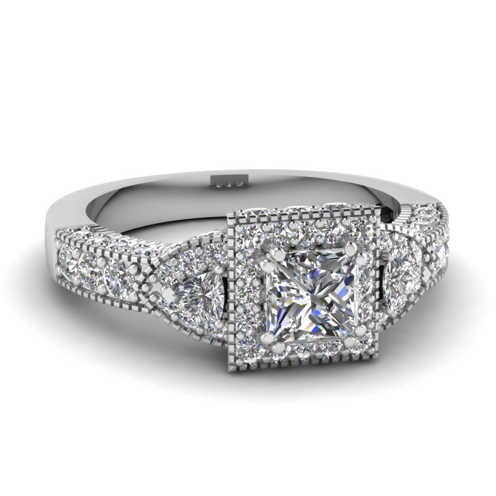 Timeless Art Deco Engagement Rings