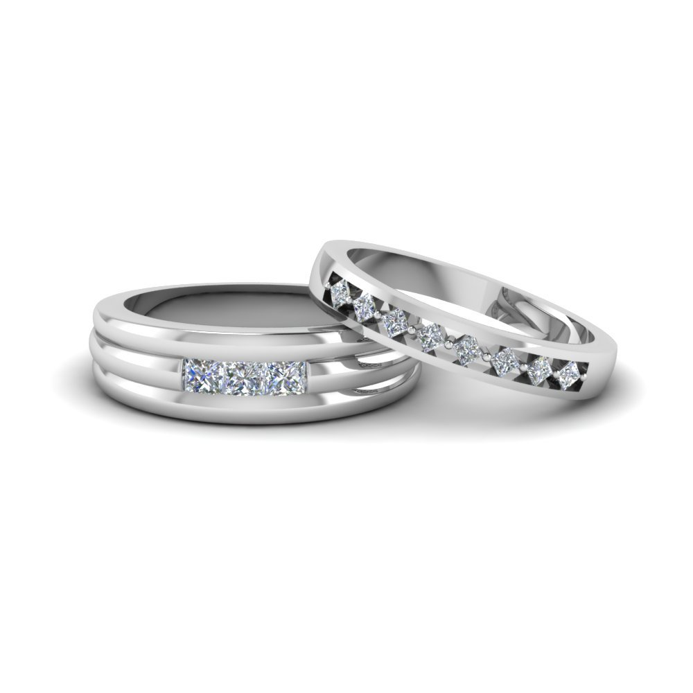 Kite Set Wedding Ring For Couples