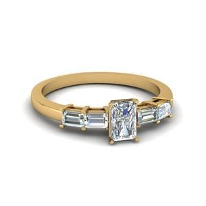 Perfect Match (Baguette Diamond Wedding Band)