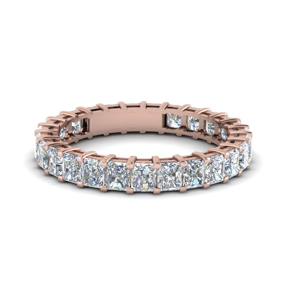 Radiant Eternity Diamond Band