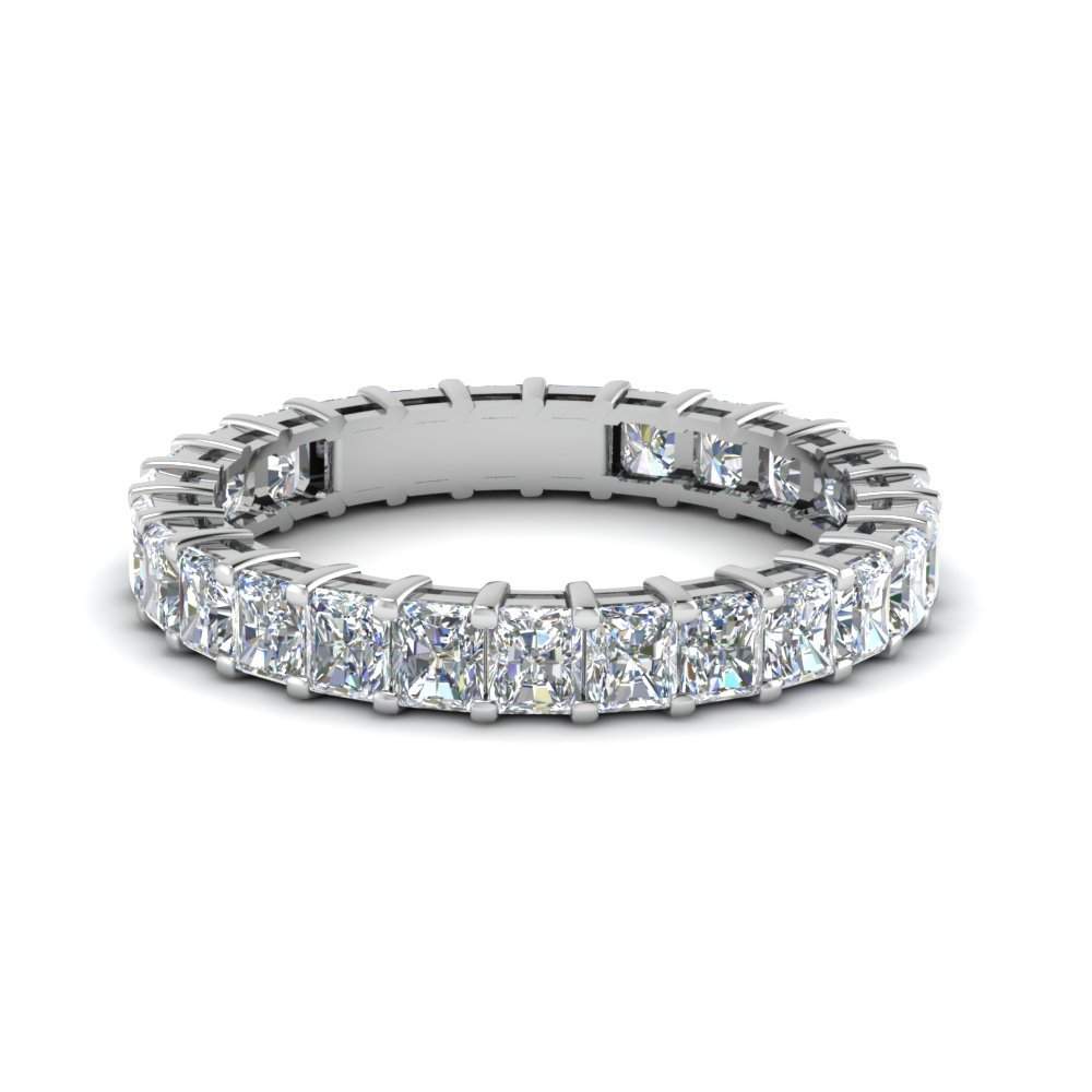 3 Ctw. Radiant Eternity Diamond Band