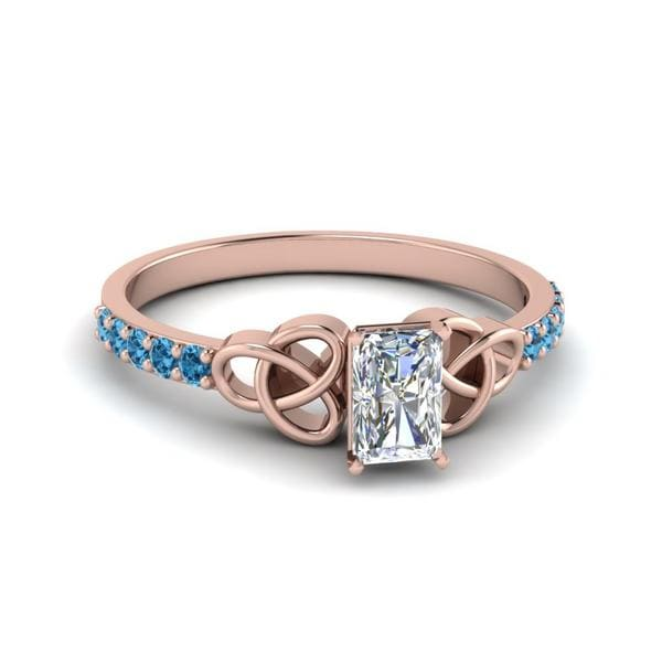 Petite Topaz Ring For Women