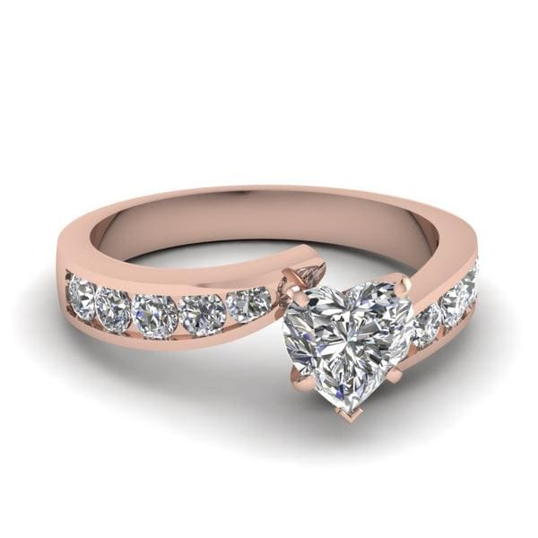 Tapered Twist Diamond Ring