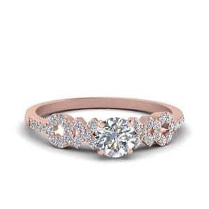 Beautiful XO Design Diamond Ring