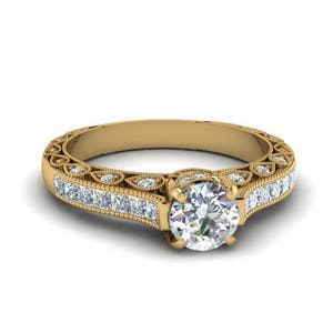 Perfect Match (Cathedral Vintage Diamond Ring)